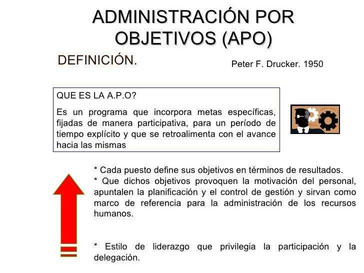 Apo for Oficina definicion