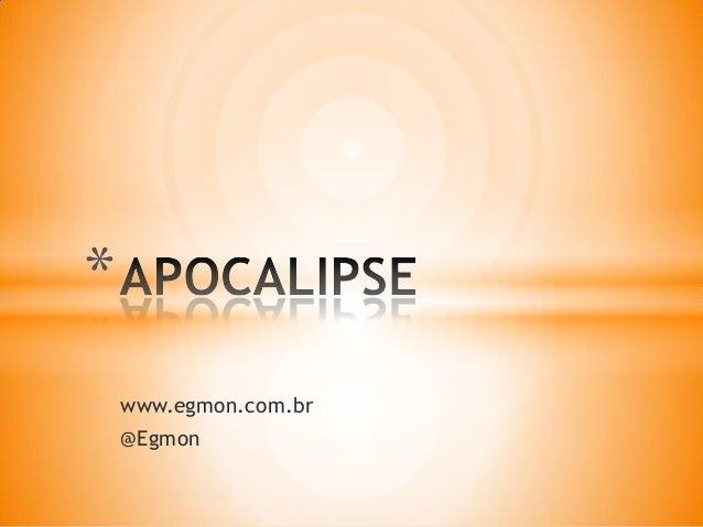 www.egmon.com.br @Egmon *