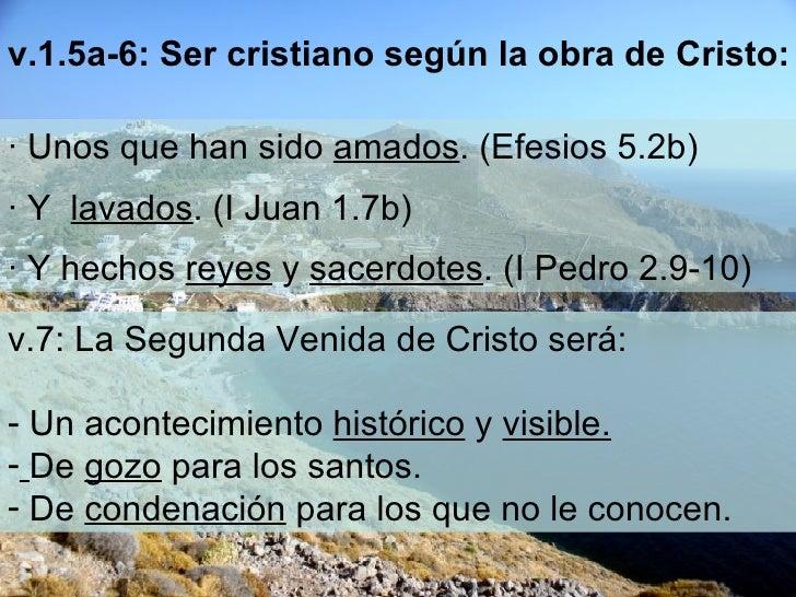 ∙  Unos que han sido  amados . (Efesios 5.2b) ∙  Y  lavados . (I Juan 1.7b) ∙  Y hechos  reyes  y  sacerdotes . (I Pedro 2...