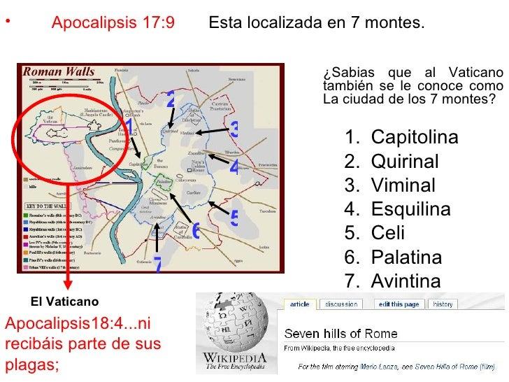 Resultado de imagen para apocalipsis 17:9