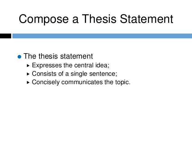 select all the purposes of the thesis statement Audience, purpose, and thesis  basics of writing and that a well wrought thesis statement and its successful follow through are  in all cases, thesis.