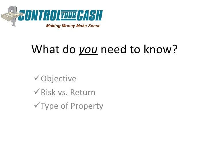 Reasonable Rate Of Return On Rental Property