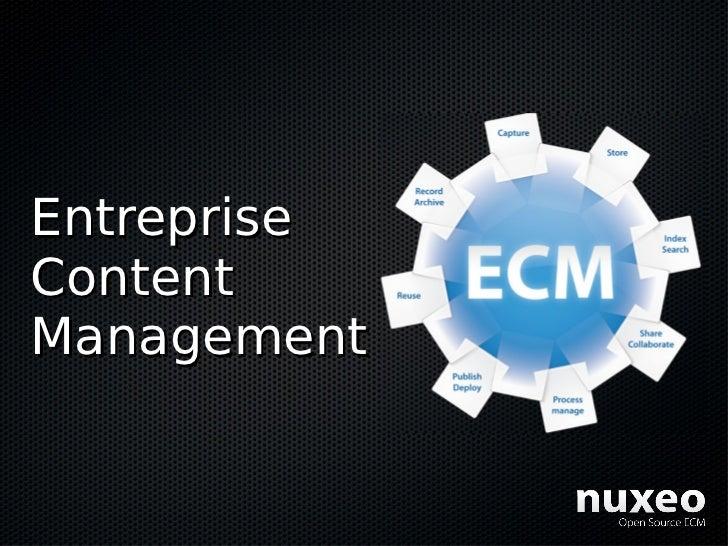 Entreprise Content Management