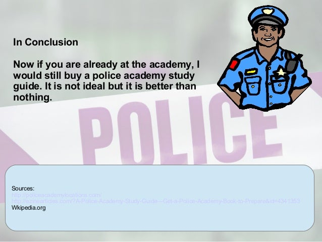 Study Guide for the Police Recruit Written Exam