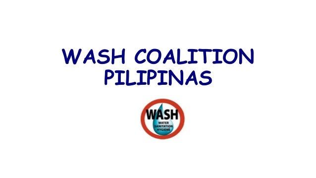 WASH COALITION PILIPINAS