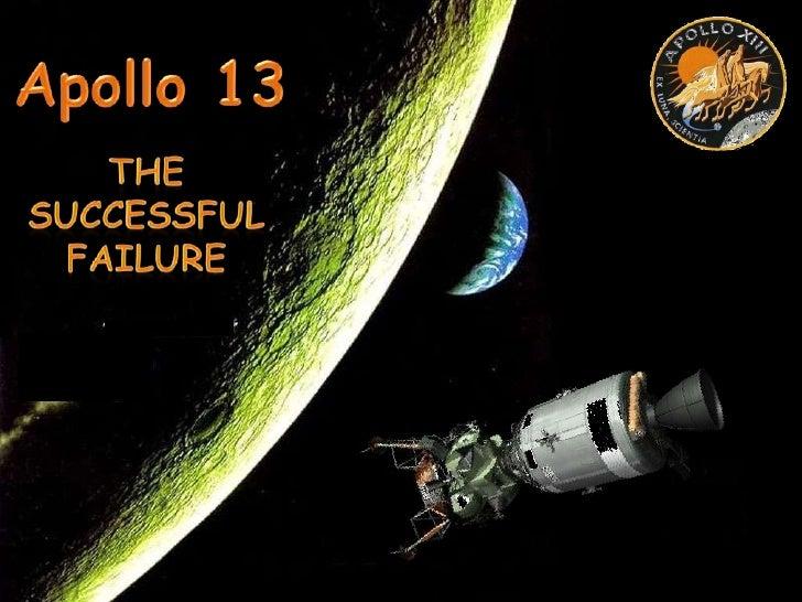 Apollo 13<br />The Successful Failure<br />