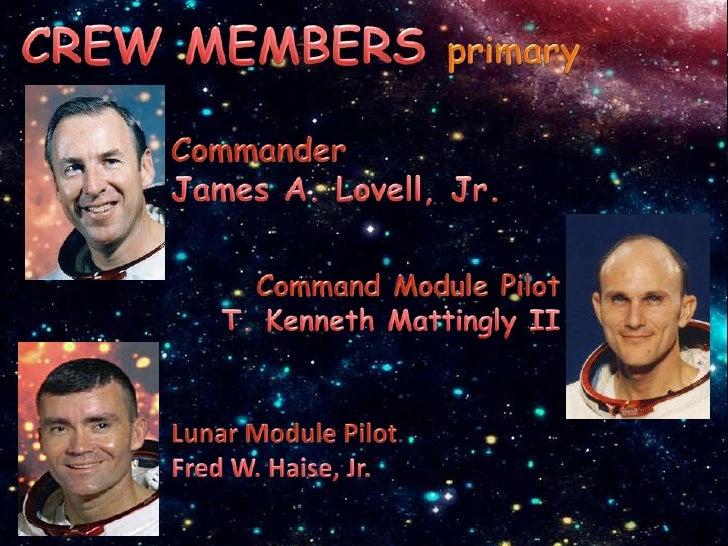 apollo 13 crew names - photo #10