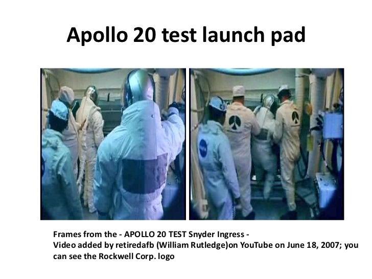 Apollo 20 mystery