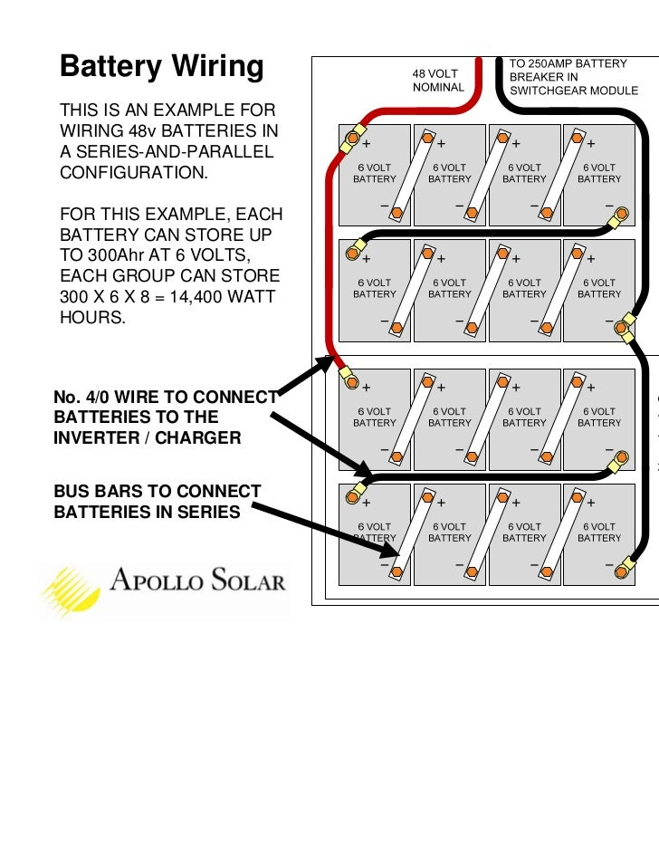 48v battery bank wiring diagram   31 wiring diagram images