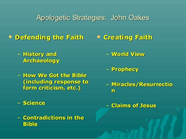 A summary of the apologetics of Bernard Ramm - worldcat.org