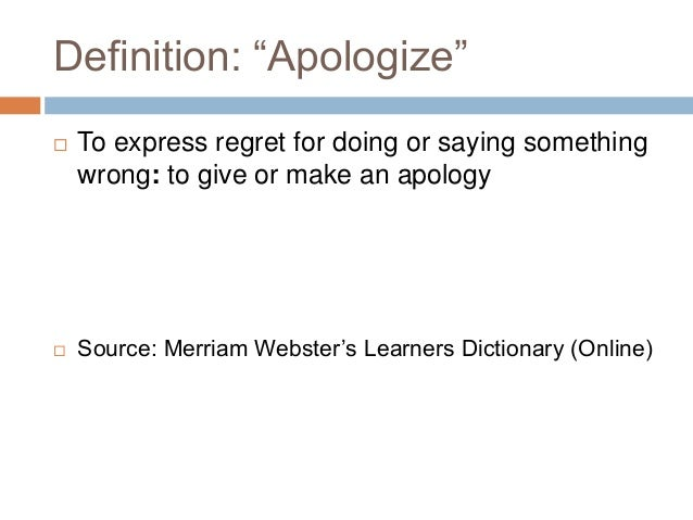 Regret Definition of Regret by MerriamWebster - oukas info