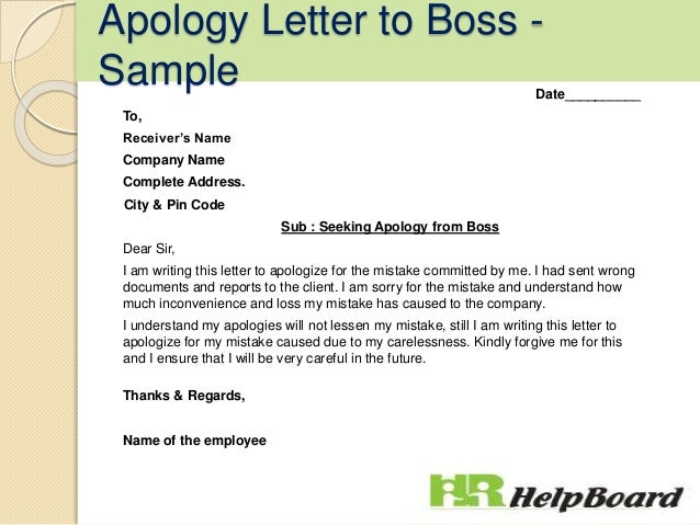 Sample Letter To Boss from image.slidesharecdn.com