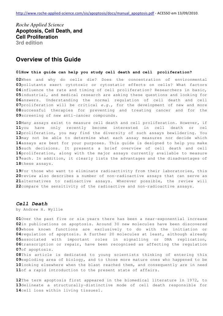 http://www.roche-applied-science.com/sis/apoptosis/docs/manual_apoptosis.pdf - ACESSO em 13/09/2010.  Roche Applied Scienc...
