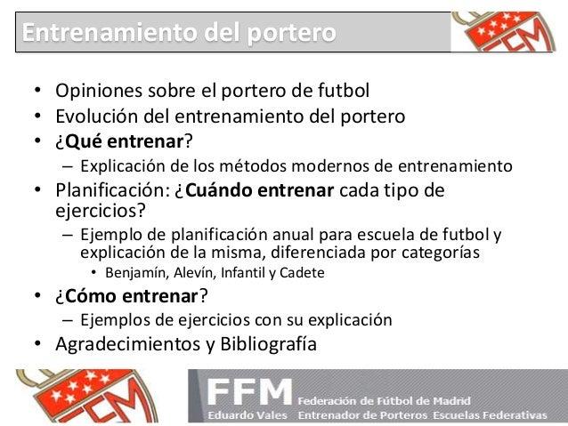 Apor 01 sesiones técnicas pdf entrenamiento de porteros ffm escuelas federativas (1) Slide 2