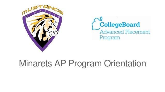 Minarets AP Program Orientation
