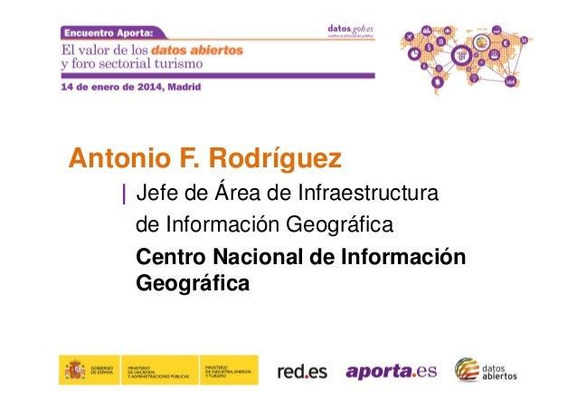 Muchas Gracias  Correo: aleida.alcaide@seap.minhap.es Twitter: @AleiAlc  Evento APORTA 14 de Enero de 2014