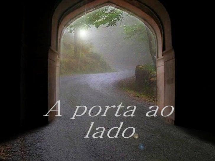 A porta ao lado
