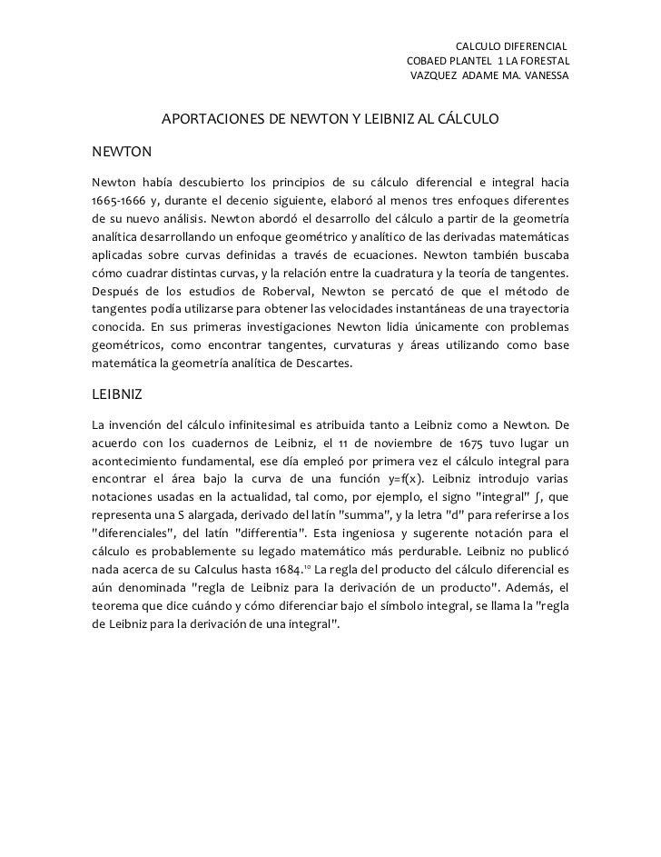 CALCULO DIFERENCIAL                                                           COBAED PLANTEL 1 LA FORESTAL                ...