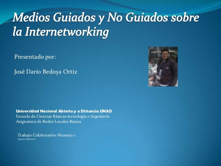 Presentado por:José Darío Bedoya OrtizUniversidad Nacional Abierta y a Distancia UNADEscuela de Ciencias Básicas tecnologí...