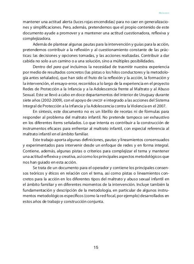 24 Aportes para la intervención en maltrato y abuso sexual infantil y adolescente Modelo ecosistémico El modelo ecosistémi...
