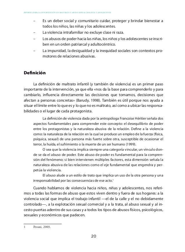 29 Modelos explicativos En los sistemas donde ocurren abusos, lo adviertan o no sus miembros, hay un acuerdo o aceptación ...