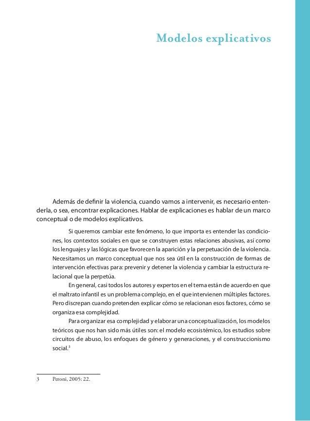 32 Aportes para la intervención en maltrato y abuso sexual infantil y adolescente Características individuales del niño, l...