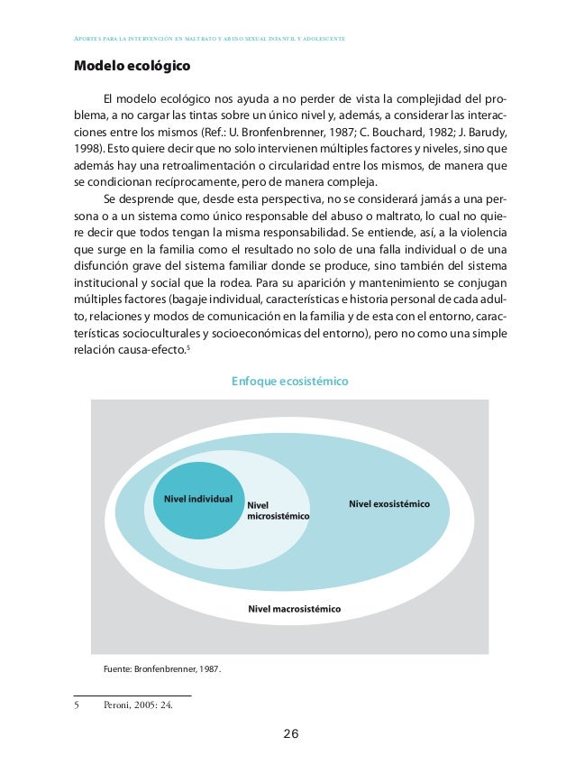 35 Impactos del maltrato y del abuso sexual infantil Más allá de considerar los complejos procesos psicopatológicos, en ge...