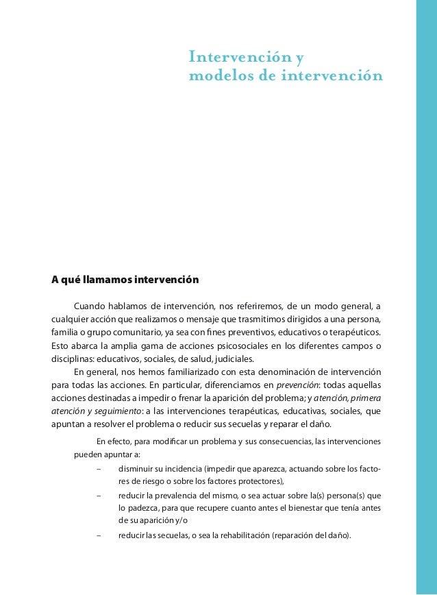46 Aportes para la intervención en maltrato y abuso sexual infantil y adolescente Modelo de autocuidado de los equipos El ...