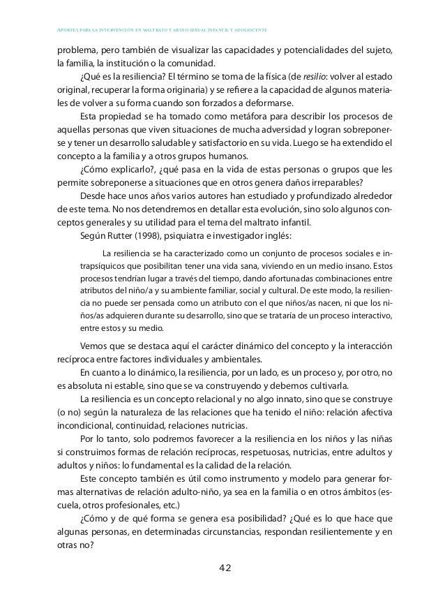 52 Aportes para la intervención en maltrato y abuso sexual infantil y adolescente EtapasObjetivosActoresInstrumentos 3.ºDi...
