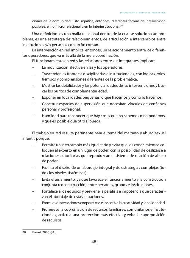 55 Intervención integral Diseño de la estrategia de intervención La lectura ecosistémica y la concepción teórica planteada...