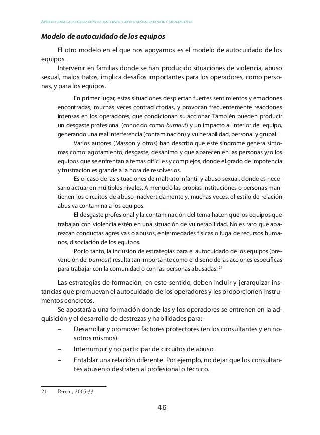 56 Aportes para la intervención en maltrato y abuso sexual infantil y adolescente accionar en las situaciones de abuso sex...