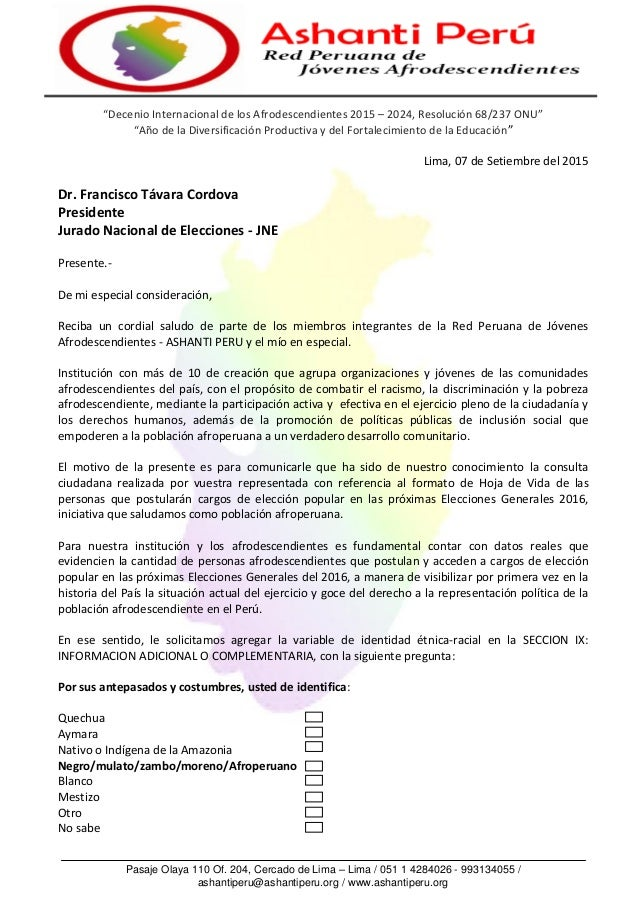 Pasaje Olaya 110 Of. 204, Cercado de Lima – Lima / 051 1 4284026 - 993134055 / ashantiperu@ashantiperu.org / www.ashantipe...