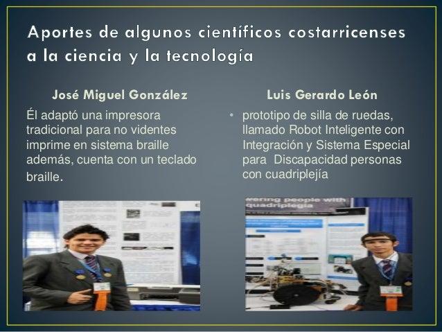 Aportes de algunos cientficos costarricenses a la ciencia urtaz Gallery