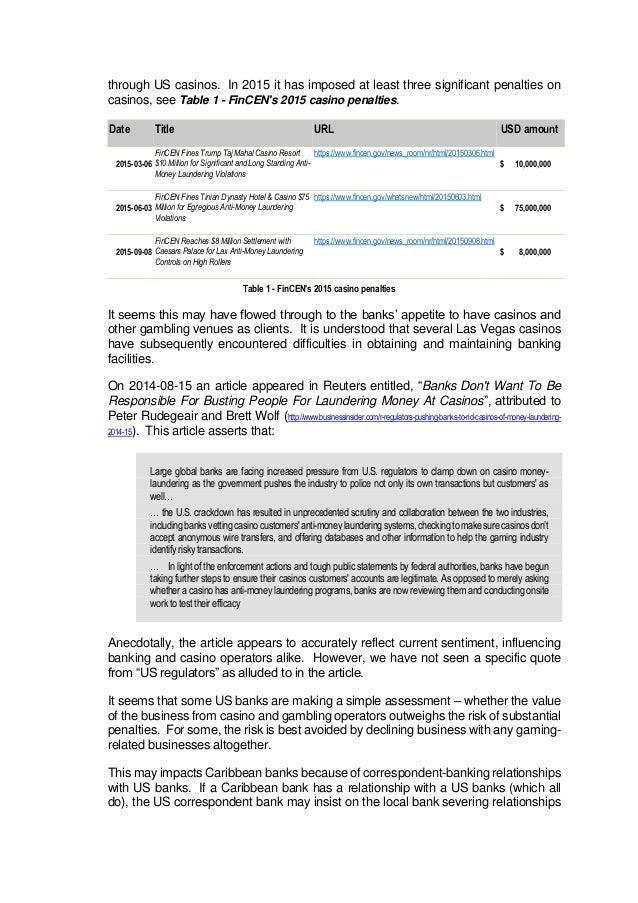 regulations online gambling