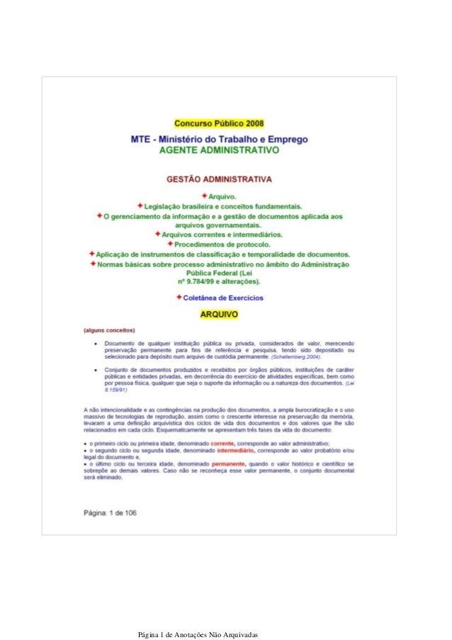 Página 1 de Anotações Não Arquivadas