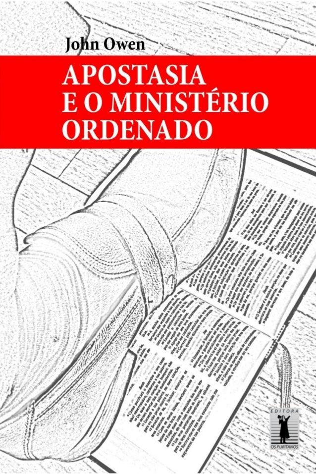 Apostasia e o Ministério Ordenado  1