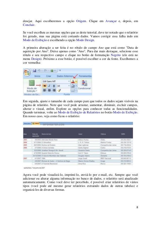 apostila do access 2007