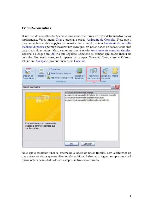 apostila access 2007 avanado