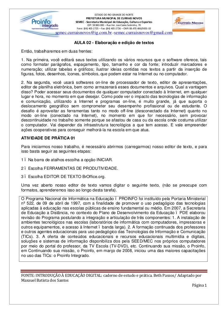 ESTADO DO RIO GRANDE DO NORTE                                    PREFEITURA MUNICIPAL DE CURRAIS NOVOS                    ...