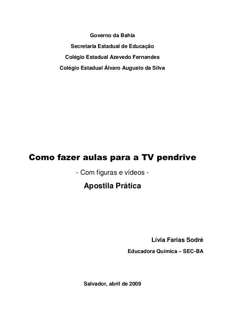 Governo da Bahia            Secretaria Estadual de Educação          Colégio Estadual Azevedo Fernandes        Colégio Est...