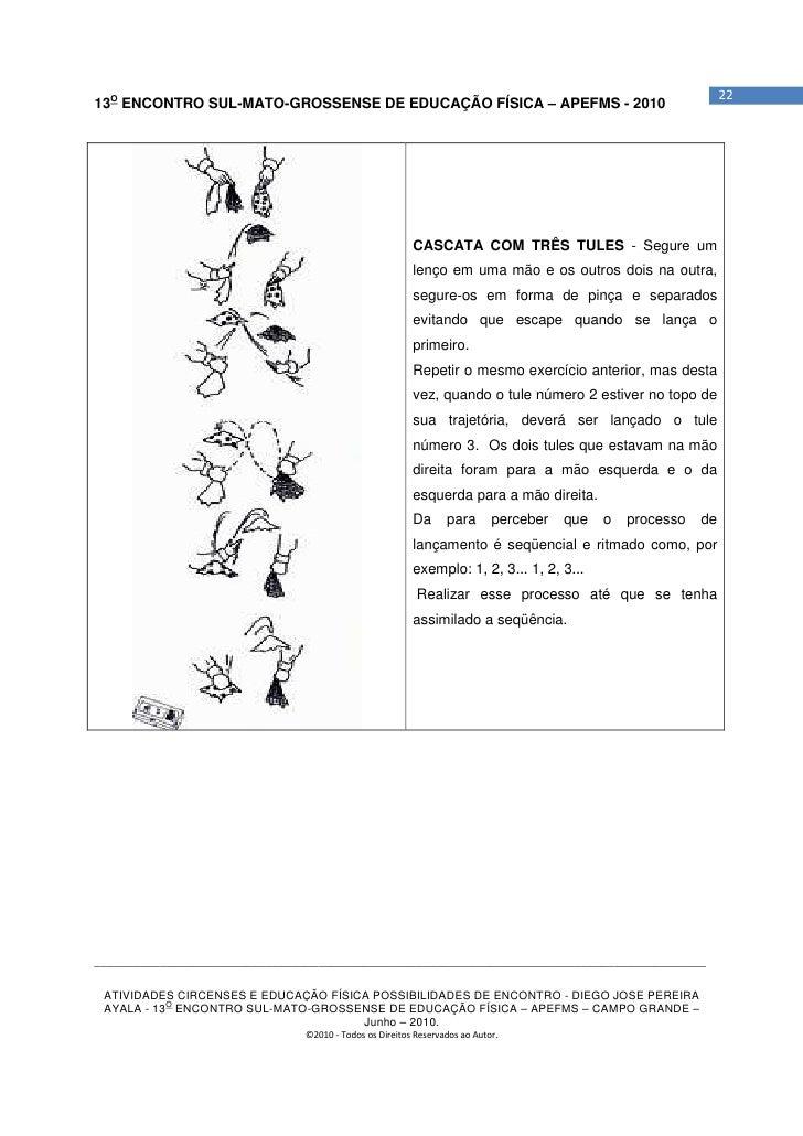 2213O ENCONTRO SUL-MATO-GROSSENSE DE EDUCAÇÃO FÍSICA – APEFMS - 2010                                                      ...