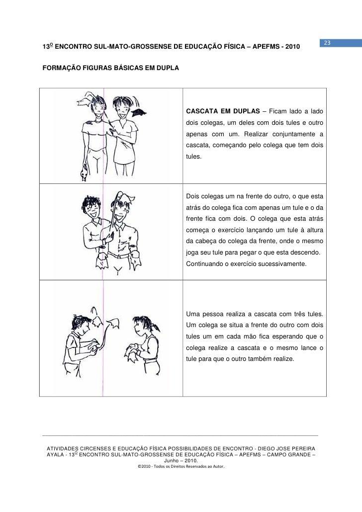 2313O ENCONTRO SUL-MATO-GROSSENSE DE EDUCAÇÃO FÍSICA – APEFMS - 2010FORMAÇÃO FIGURAS BÁSICAS EM DUPLA                     ...