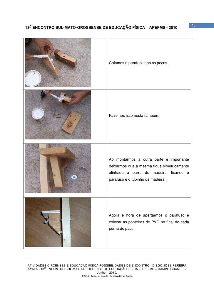 4613O ENCONTRO SUL-MATO-GROSSENSE DE EDUCAÇÃO FÍSICA – APEFMS - 2010                                                      ...