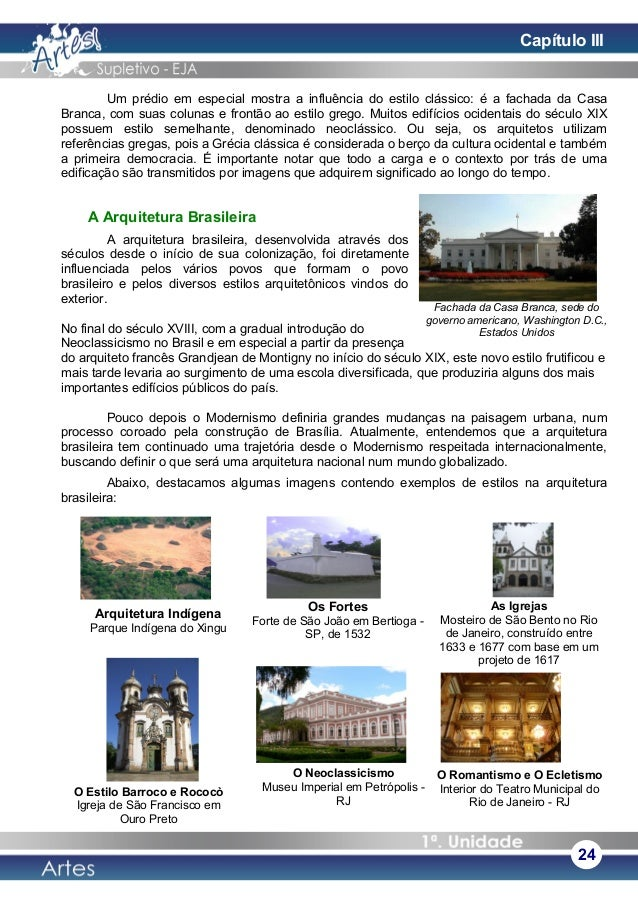 Um prédio em especial mostra a influência do estilo clássico: é a fachada da Casa Branca, com suas colunas e frontão ao es...