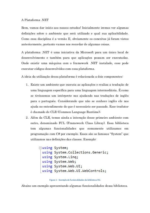 Apostila - Desenvolvimento Web com ASP.NET Slide 3