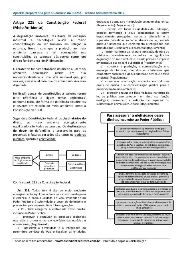 DO 2012 GRATIS BAIXAR APOSTILA IBAMA