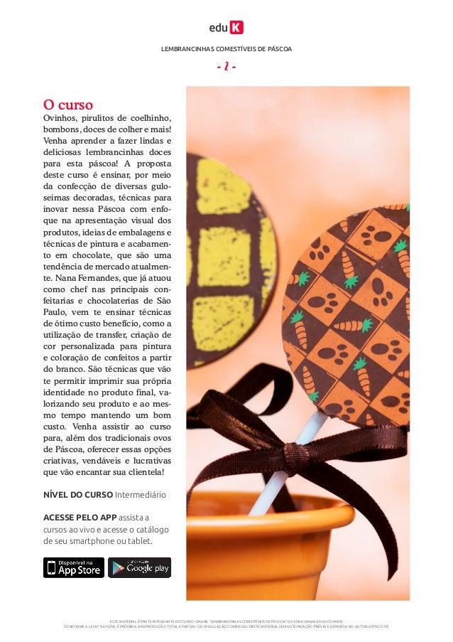 Apostila  -lembrancinhas_comestiveis_de_pascoa Slide 2