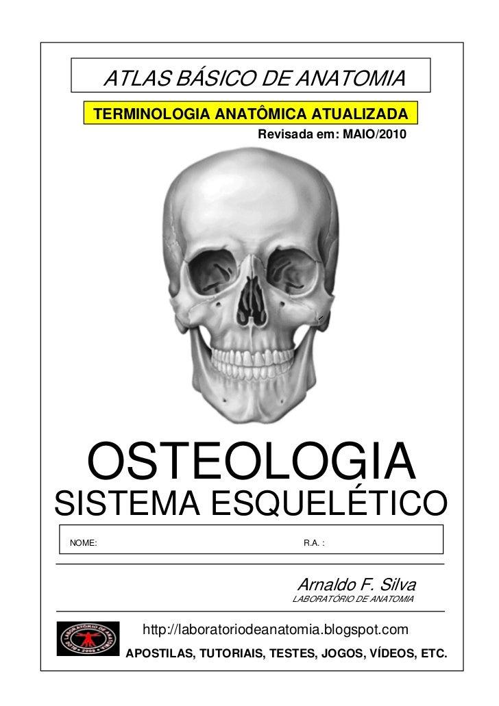 ATLAS BÁSICO DE ANATOMIA    TERMINOLOGIA ANATÔMICA ATUALIZADA                             Revisada em: MAIO/2010   OSTEOLO...