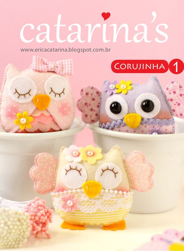 www.ericacatarina.blogspot.comwww.ericacatarina.blogspot.com.br Corujinha 1