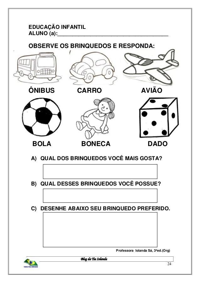 Tag Atividades Sobre Brinquedos E Brincadeiras Para Educação Infantil